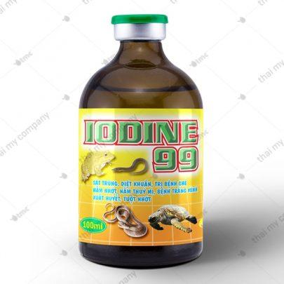 IODINE 99 Sát trùng, diệt khuẩn, trị bệnh ghẻ nấm nhớt, nấm thuỷ mi, bệnh trắng mình xuất huyết, tuột nhớt