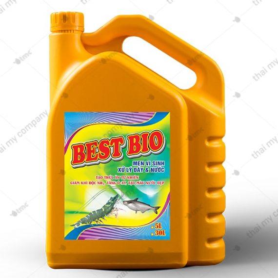 Best Bio Men thối, chuyển hoá nitrít (NO2-N) thành nitrát (NO3-N), giảm cod, bod, ổn định chất lượng nước