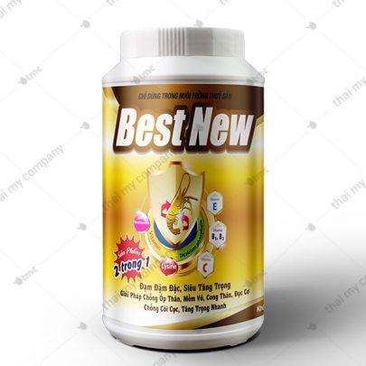 Best New Sản phẩm 2 trong 1 đạm đậm đặc, siêu tăng trọng. Giải pháp chống óp thân, mềm vỏ, cong thân, đục cơ Chống còi cọc, tăng trọng nhanh