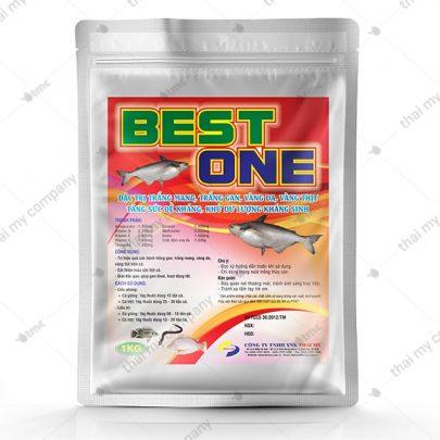 BEST ONE Đặc trị trắng mang, trắng gan, vàng da, vàng thịt, tăng sức đề kháng, khử dư lượng kháng sinh
