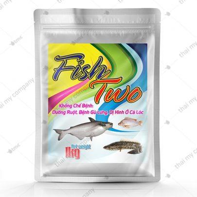 FISH TWO Khống chế bệnh đường ruột, bệnh gù lưng dị hình ở cá lóc