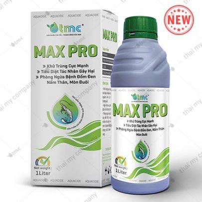 MAX PRO Aquacide, Khử trùng cực mạnh, tiêu diệt tác nhân gây hại, phòng ngừa bệnh đốm đen, nấm thân, mòn đuôi