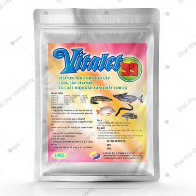 Vitalet 99 Vitamin tổng hợp cao cấp, cung cấp vitamin và chất điện giải cần thiết cho cá